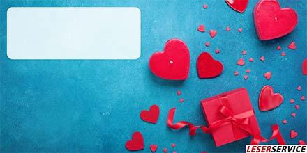 Leserservice Geschenkkarte Valentine
