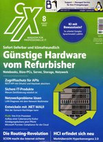 iX Magazin für professionelle Informationstechnik Abo beim Leserservice bestellen