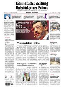Cannstatter Zeitung und Untertürkheimer Zeitung