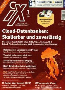 iX Magazin für professionelle Informationstechnik Abo beim Leserservice