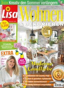 Lisa Wohnen & Dekorieren Abo beim Leserservice