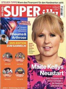 SUPERillu mit DVD Abo beim Leserservice