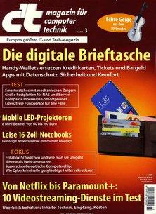 c't magazin für computertechnik Abo beim Leserservice