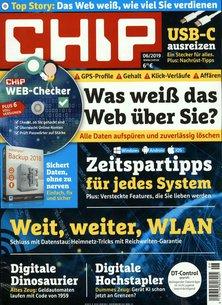 CHIP mit DVD Abo beim Leserservice