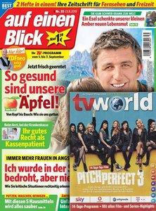auf einen Blick mit tv world Abo beim Leserservice