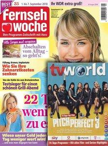 Fernsehwoche mit tv world Abo beim Leserservice