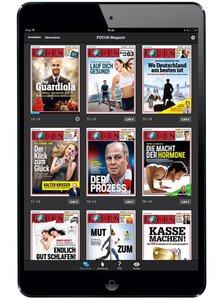Focus digital als Abo beim Leserservice