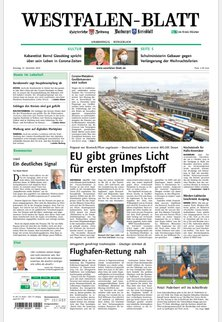 Höxtersche Zeitung - Westfalen-Blatt