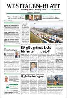Warburger Kreisblatt - Westfalen-Blatt