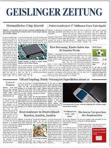 Geislinger Zeitung