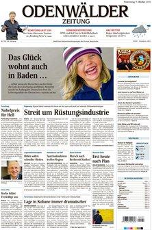 Odenwälder Zeitung - kostenlos testen