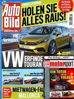 Auto Bild + Auto Bild Motorsport Abo Titelbild