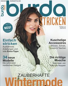 Burda Stricken Abo Titelbild