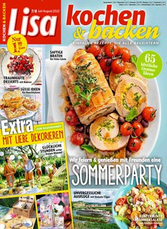 Lisa Kochen & Backen Abo Titelbild
