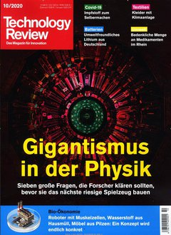 Technology Review Abo Titelbild