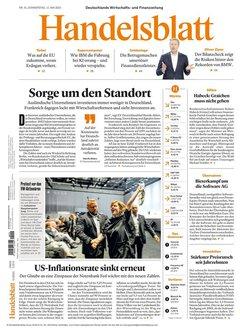 Handelsblatt Abo Titelbild