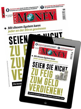 FOCUS MONEY + Digital-Upgrade
