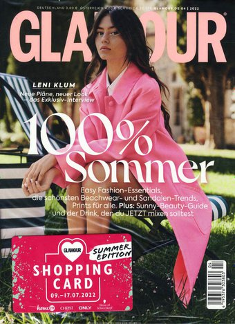 Glamour Abo beim Leserservice