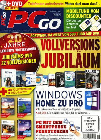 PCgo Classic DVD Abo beim Leserservice
