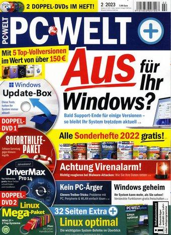 PC WELT PLus mit DVD Abo beim Leserservice