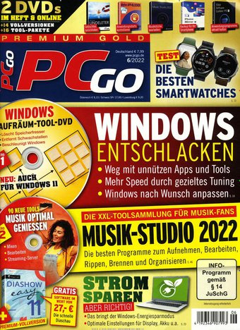 PCgo Gold Edition Abo beim Leserservice