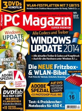 PC Magazin Super Premium XXL Abo beim Leserservice