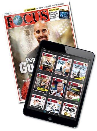 Focus Print + E-Paper Abo beim Leserservice