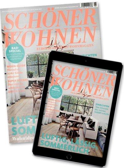 SCHÖNER WOHNEN - Kombi Print + Digital