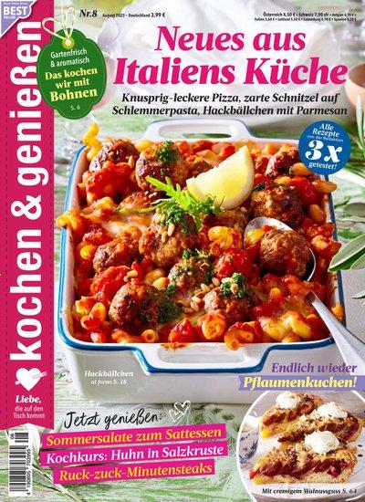 kochen & genießen Abo beim Leserservice