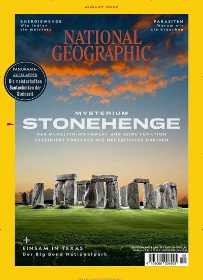 NATIONAL GEOGRAPHIC Abo beim Leserservice