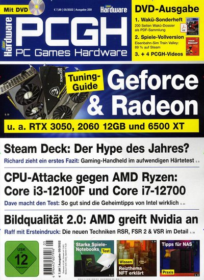 PC Games Hardware +DVD-Prämienabo Titelbild