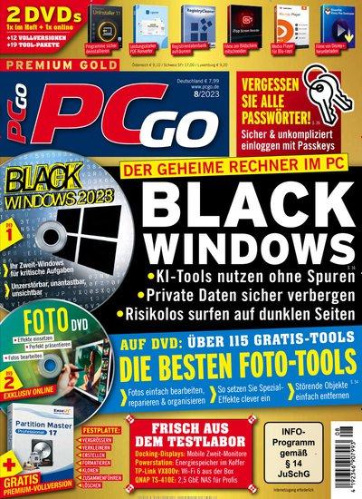 PCgo Classic DVD XXL Abo beim Leserservice