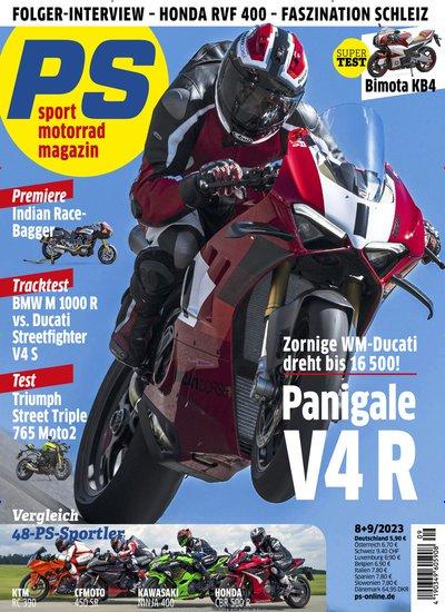 PS - Motorrad-Prämienabo Titelbild