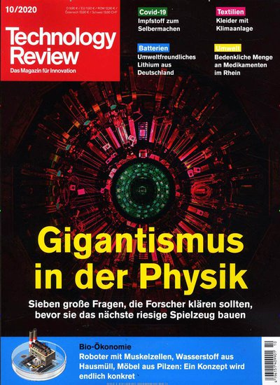 Technology Review Abo beim Leserservice