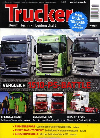 Trucker Abo beim Leserservice