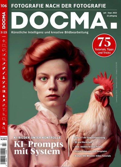 DOCMA Magazin für digitale Bildbearbeitung Abo beim Leserservice