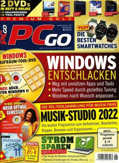 PCgo Gold XXL Edition Abo beim Leserservice