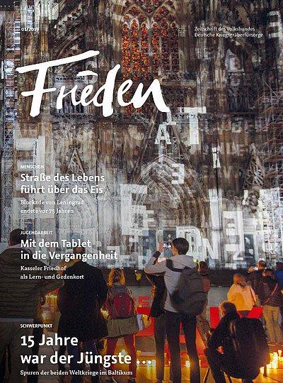 frieden - Zeitschrift des Volksbunds Deutsche Kriegsgräberfürsorge e.V.