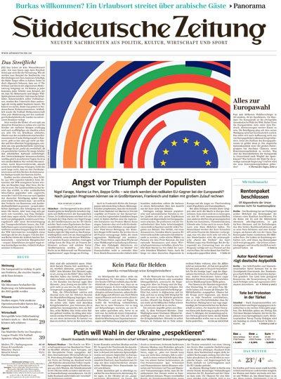 Süddeutsche Zeitung-Prämienabo Titelbild
