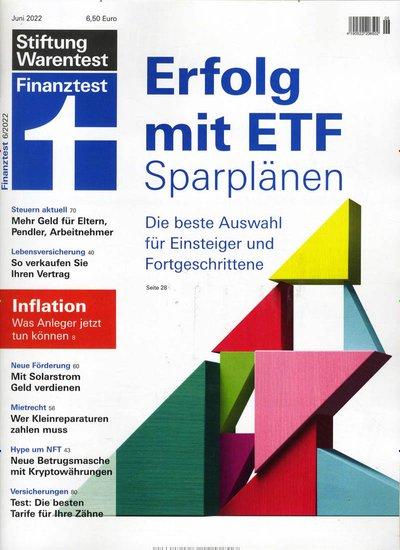 Finanztest Abo beim Leserservice