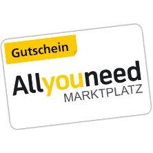 Allyouneed-Gutschein